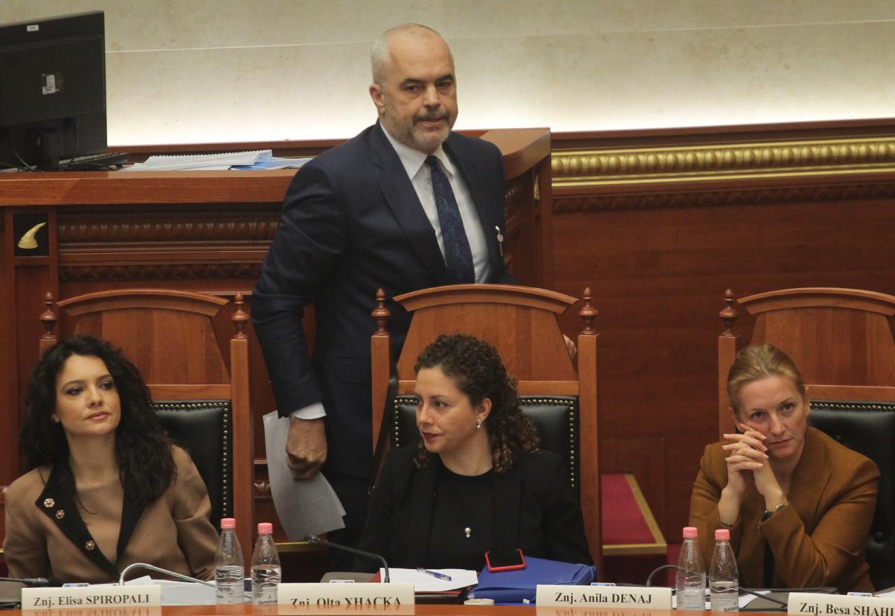"""Gratë ministre të qeverisë """"Rama"""" letër Holandës zyrtare, për çeljen e negociatave me Shqipërinë"""