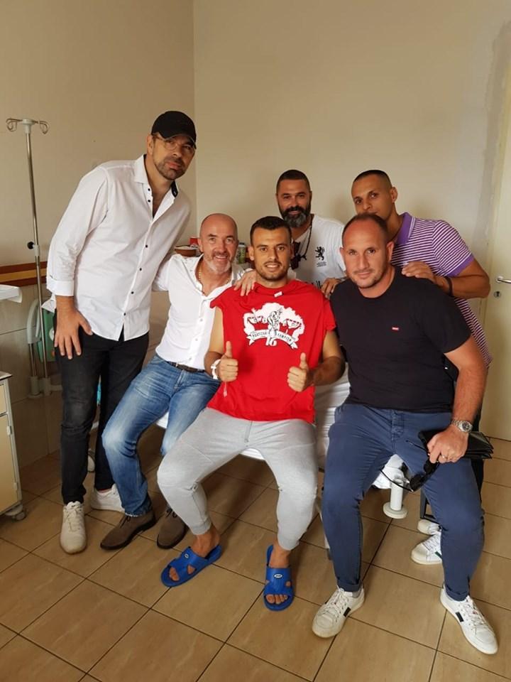 Rama dhe trajneri italian vizitojnë portierin në spital. Ja kur do t'i rikthehet Aldo Teqja Partizanit?