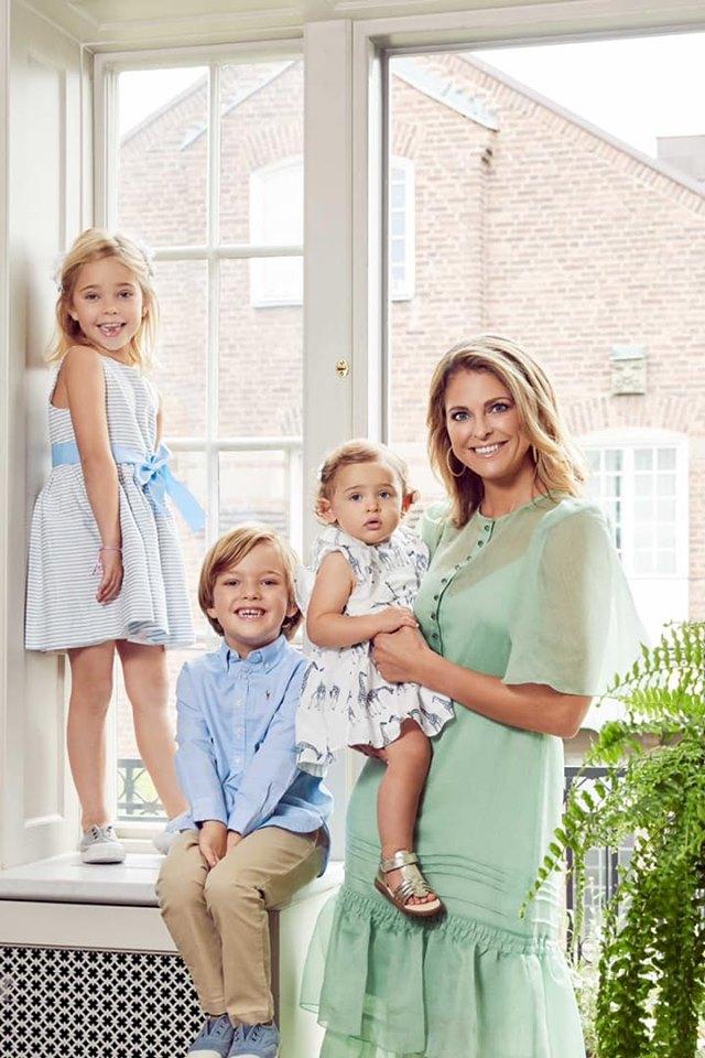 Tre fëmijët e saj nuk do t'i përkasin më familjes Mbretërore, Princesha e Suedisë shprehet e lumtur