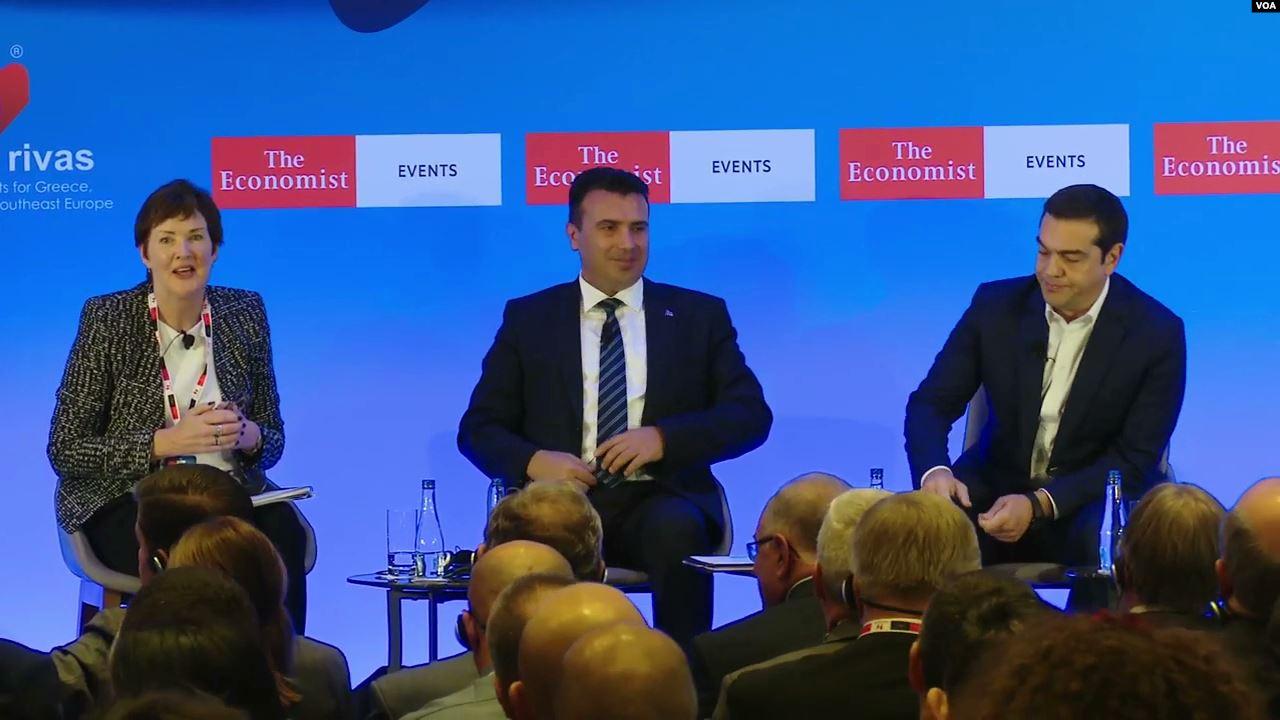 """Shkup, një debat për Ballkanin nga """"The Economist"""""""