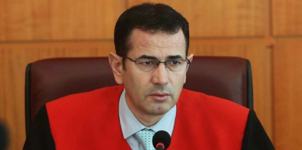 Constitutional Court chief justice impeached