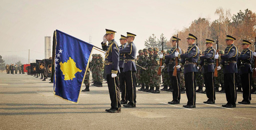 Senior officials in Tirana praise the creation of the army of Kosovo