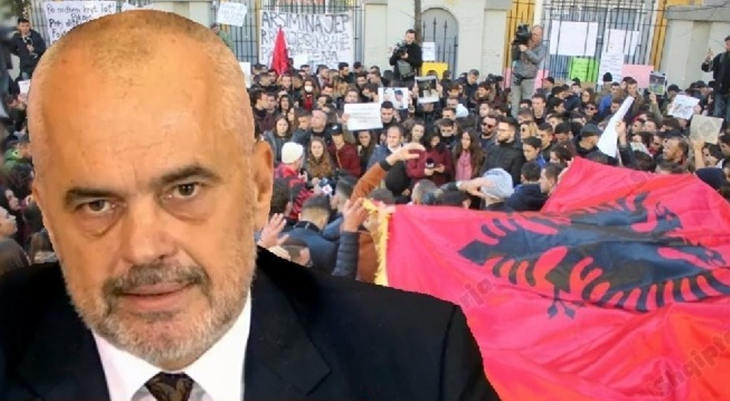 Protests: PM Rama: Another day wasted!