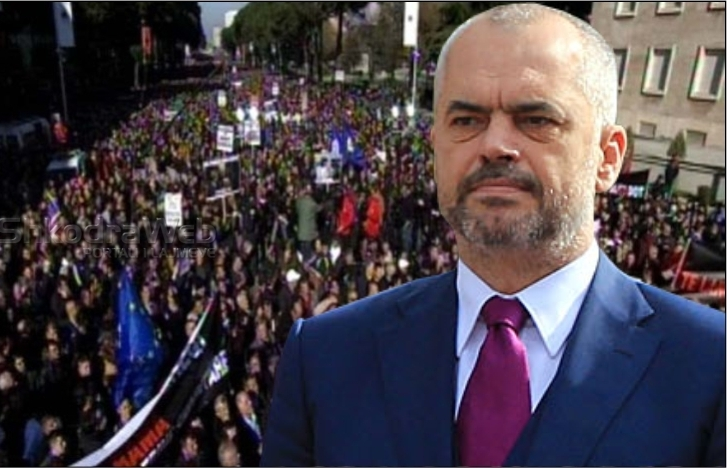 PM Rama: I'm with the students, we will not stop our efforts for better universities!